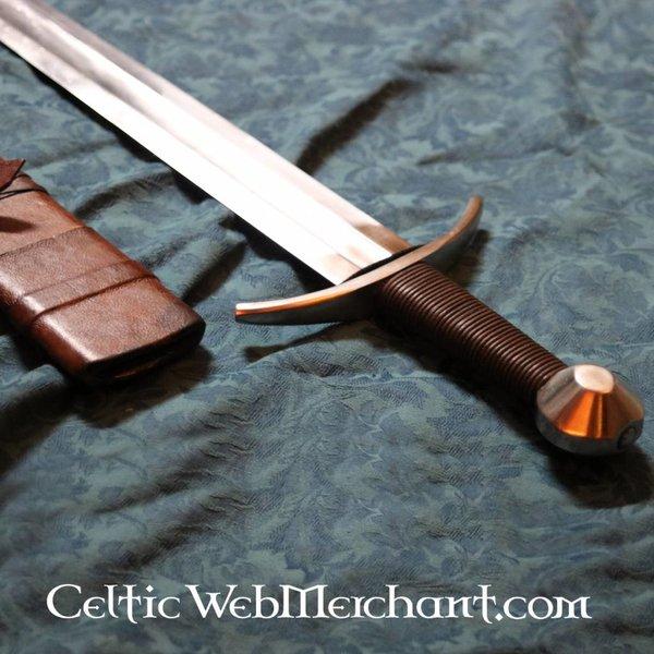 Deepeeka 13th century krzyżowiec miecz, pół-ostry