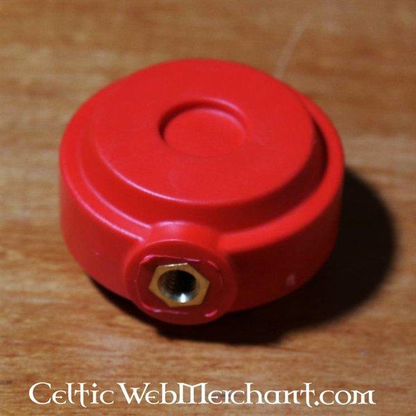 Red dragon pomo redondo formación espada roja