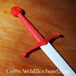 pomello tondo formazione spada rosso