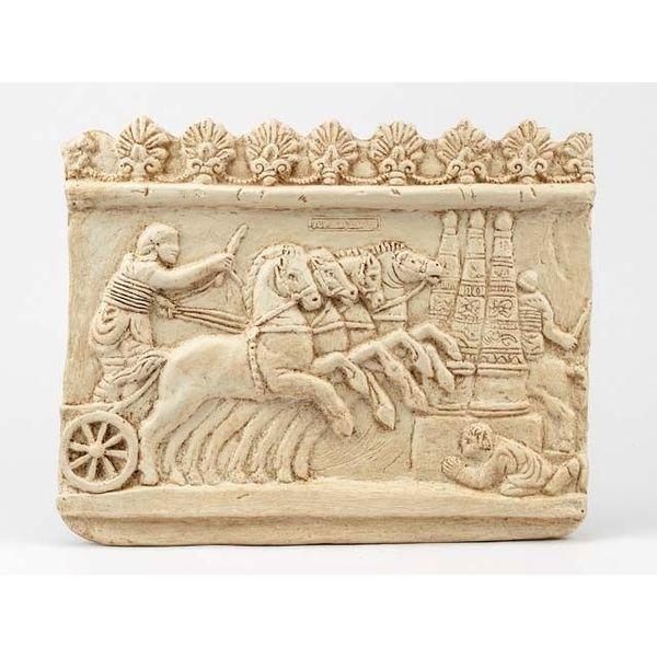 Relief wyścigi rydwanów Circus Maximus