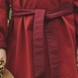 Girls dress Birka, red