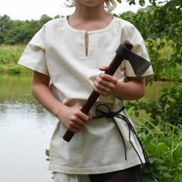 Kinder Tunika Ivar, kurzärmelige, natürliche