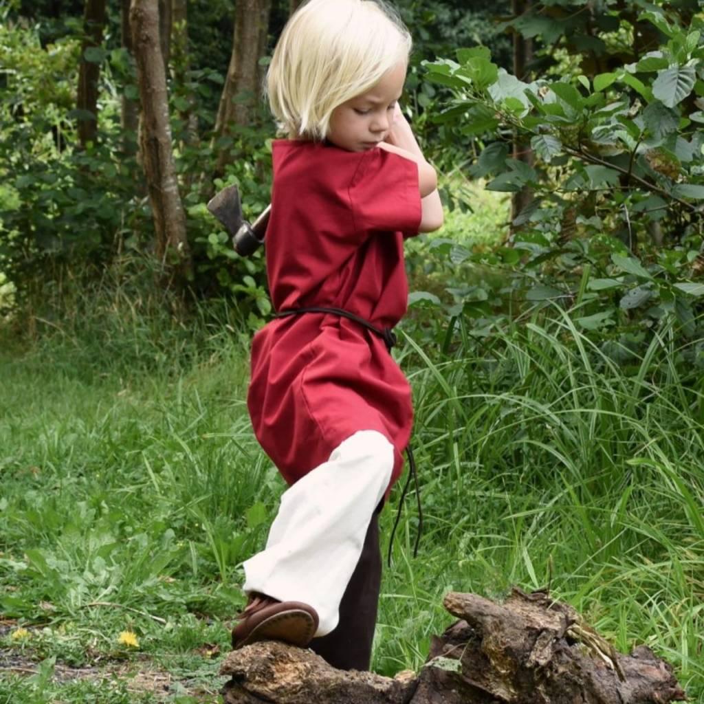 Kinder Tunika Ivar, kurzärmelige, rot