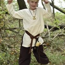 Kids tunic Athelstan, natural
