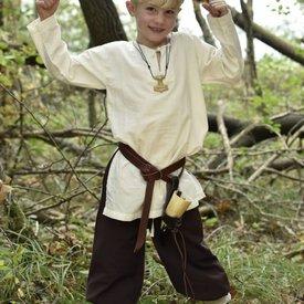 Børn tunika Athelstan, naturlig