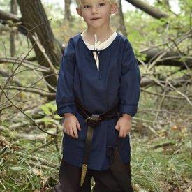 Dzieci tunika Athelstan, niebieski