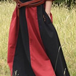 Dziewczyna spódnica Loreena, czarno-czerwony