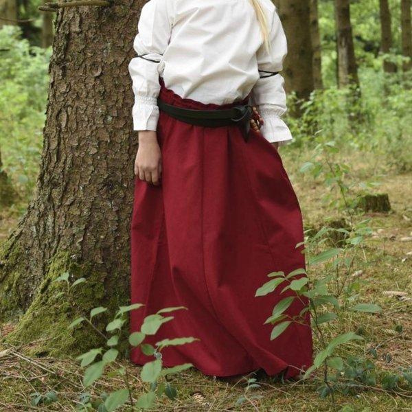 Meisjesrok Loreena, rood