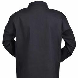 Camisa de niños pirata, negra.