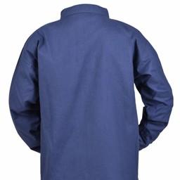 Camisa de niños pirata, azul.