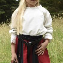 Dziewczyny bluzka Elizabeth, naturalne