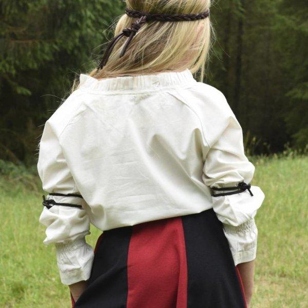 Bluzka dziewczęca Elizabeth, naturalna