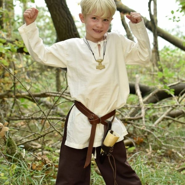 Kinderbroek Asmund, bruin