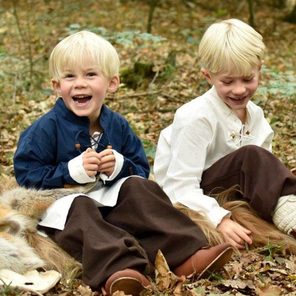 Børn bukser Asmund, brun