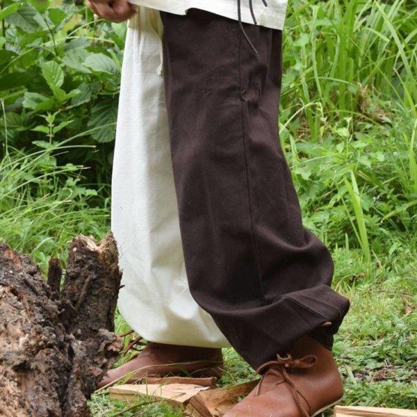 Børn bukser Asmund, brun-naturlig