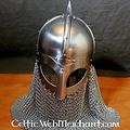 Deepeeka Viking helmet with chainmail