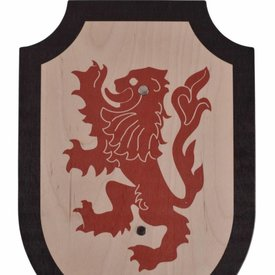 Escudo de juguete Lionheart, negro-rojo