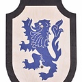Bouclier de jouet Lionheart, noir-bleu