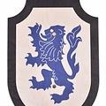 Scudo giocattolo Lionheart, nero-blu