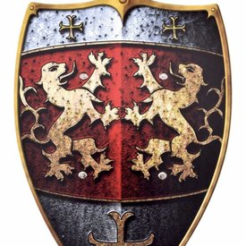 Lions bouclier chevalier jouet