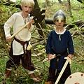 Escudo de juguete vikingo