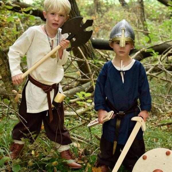 Speelgoedschild Viking