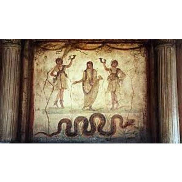 Larariumreliëf Pompeii