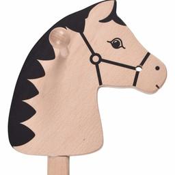 Caballo de juguete medieval