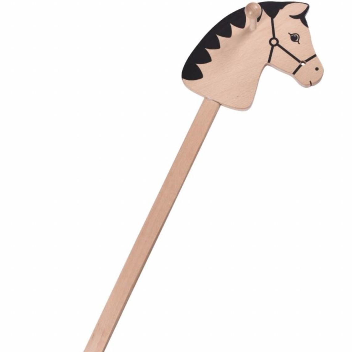 Cavallo giocattolo medievale