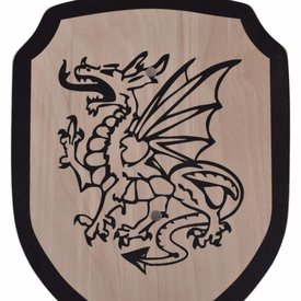 Bouclier jouet dragon