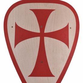 Escudo de juguete cruzado