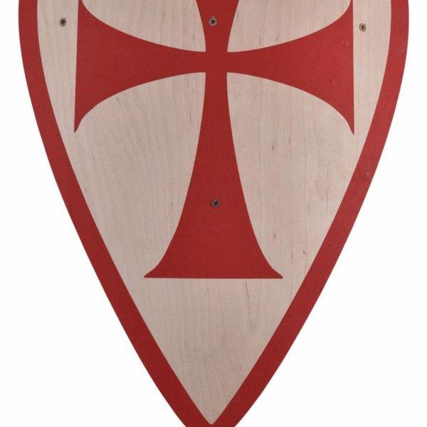 Speelgoedschild kruisvaarder