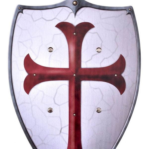 Toy shield Knight Templar