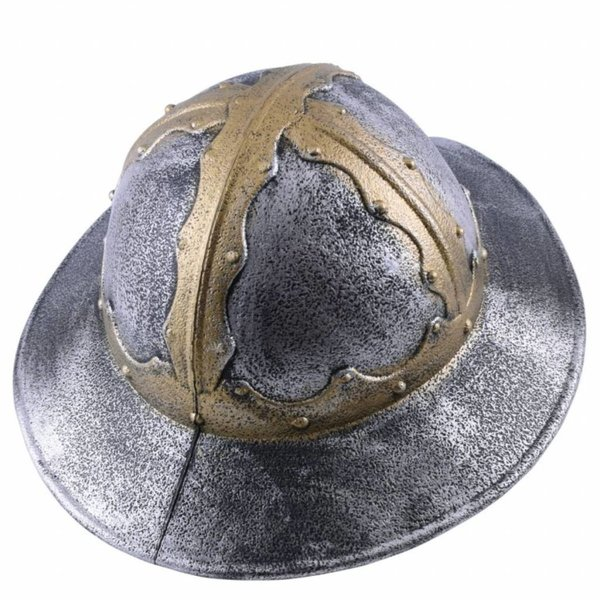 Toy helmet medieval kettle hat
