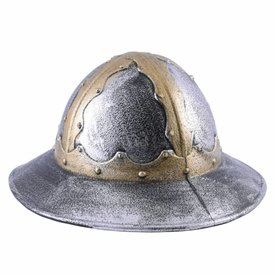 Toy helmet medieval kettle hat