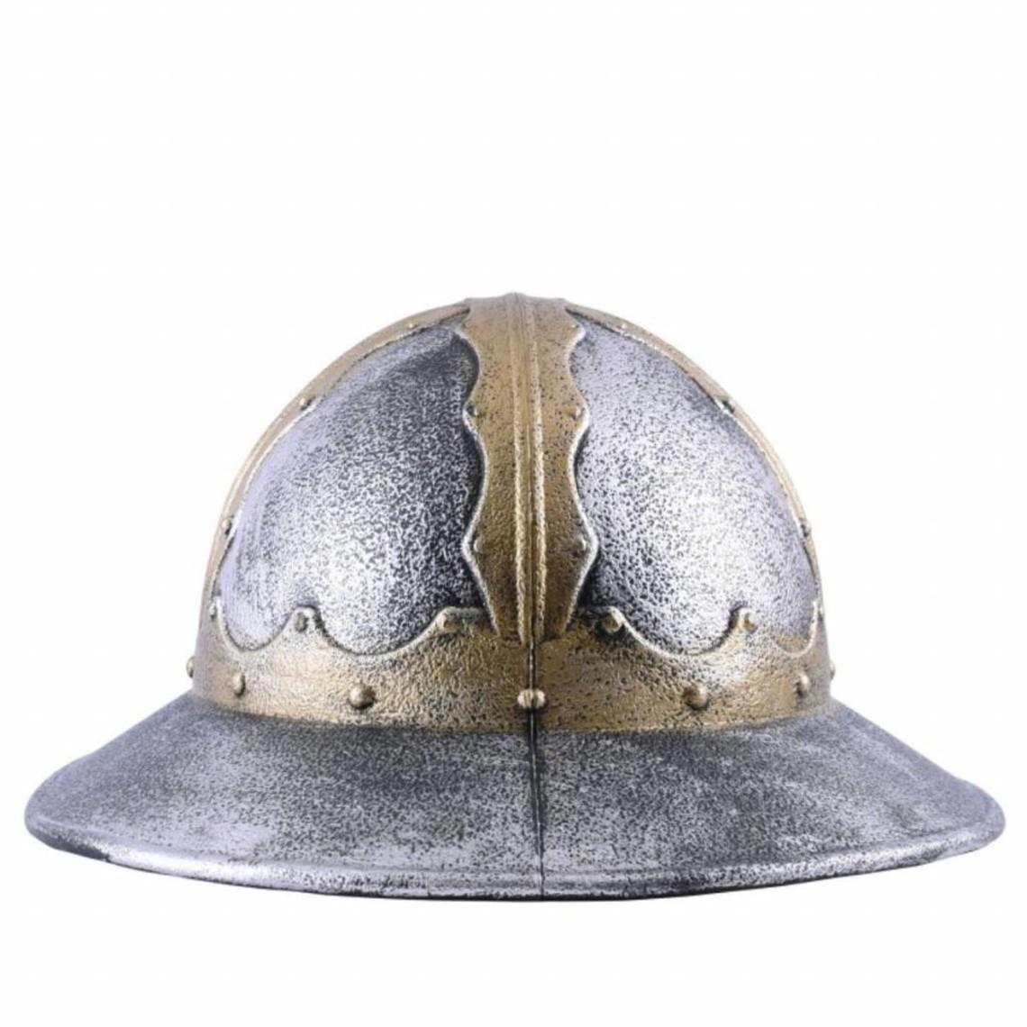 X-Mas Bollitore Medievale Cappello Casco ricostruzione storica Larp Role-Play Fanteria Spagnola