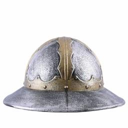 Chapeau de bouilloire médiéval de casque jouet