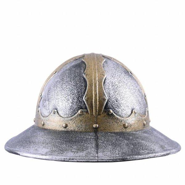 Speelgoedhelm middeleeuwse ketelhoed