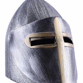 Pagnotta di zucchero medievale del casco del giocattolo