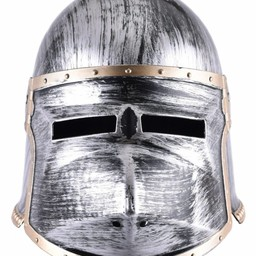 Toy helmet klappvisor bascinet