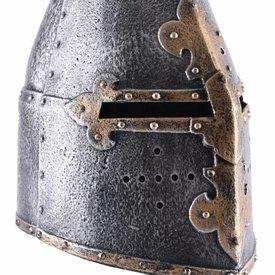 Casque de chevalier grand casque