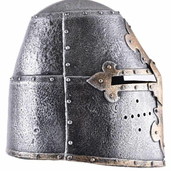 Cavaleiro de capacete de brinquedo grande capacete