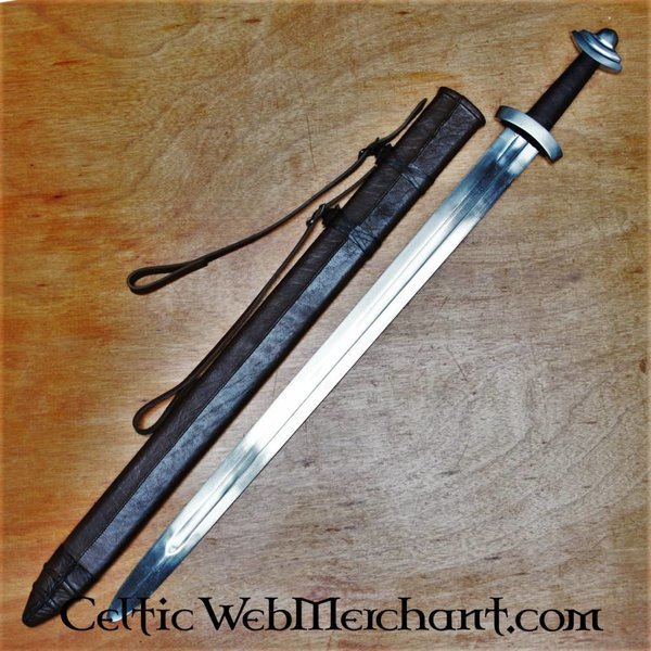 Deepeeka Espada anglosajona del siglo XI, lista para la batalla