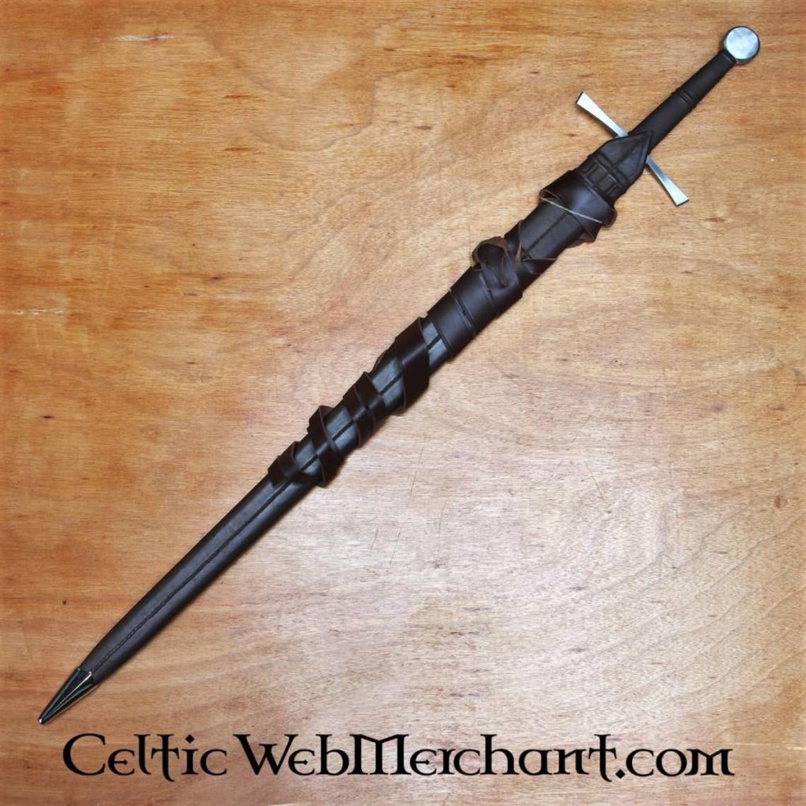 Red dragon Épée bâtarde, trempée