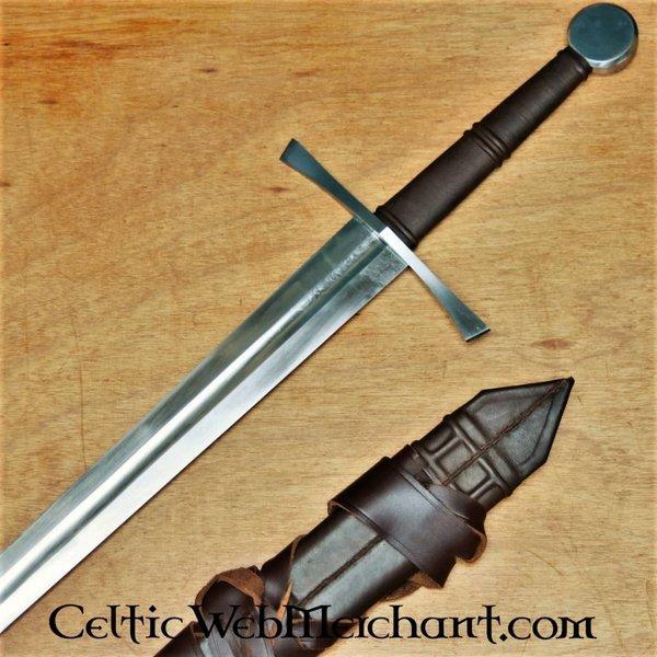 Red dragon Espada bastarda, templada