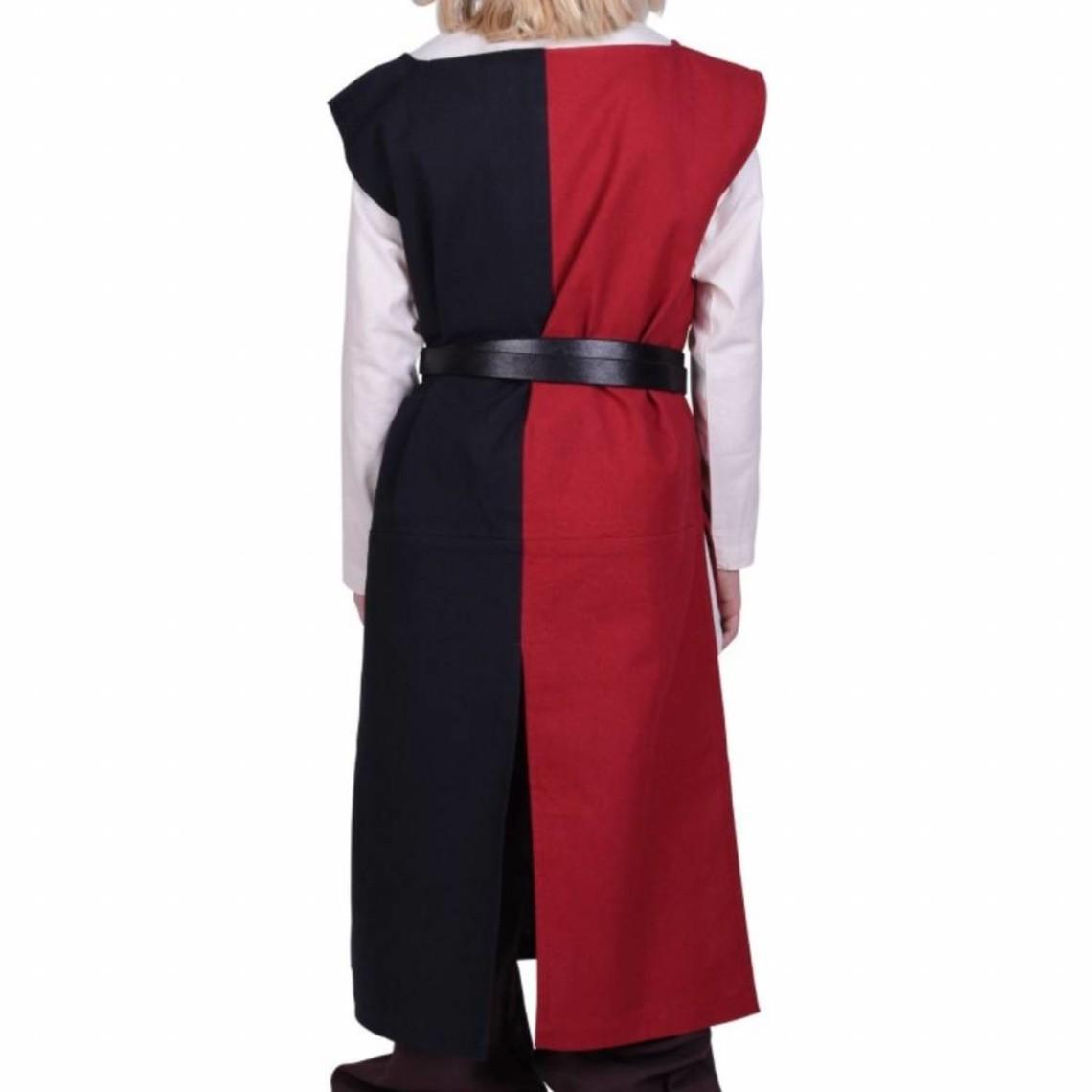 Kinderoverkleed Rodrick, zwart-rood