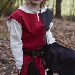 Abrigo para niños Rodrick, negro-rojo