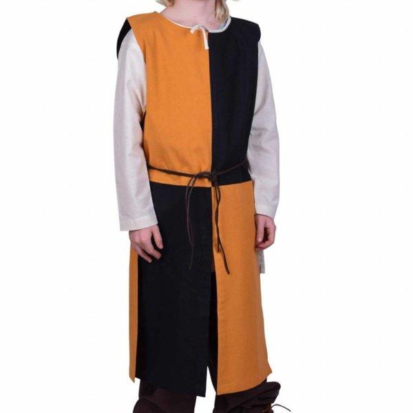 Børns surcoat Rodrick, sort-orange