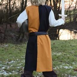 Childrens surcoat Rodrick, black-orange