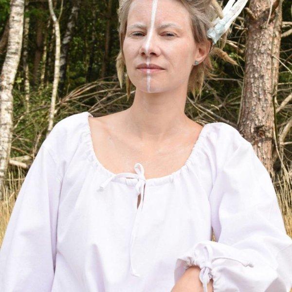Middeleeuwse onderjurk Matilda, wit